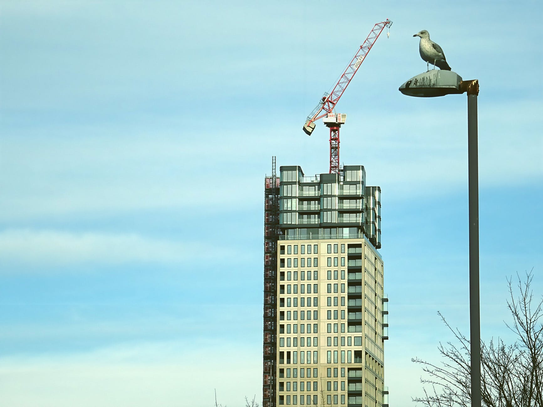 beige concrete high rise building